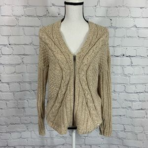 Woolrich Zip up Cardigan Sz medium